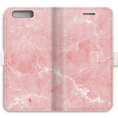 coque-portefeuille-entierement-imprimee-huawei-ascend-p10 - Marbre Rose