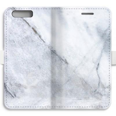 coque-portefeuille-entierement-imprimee-huawei-ascend-p10 - Marbre blanc