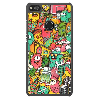 coque huawei p8 lite 2017 psychedelic