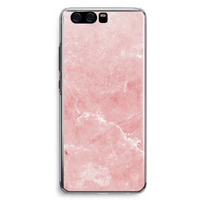 huawei-p10-transparent-fodral - Rosa marmor