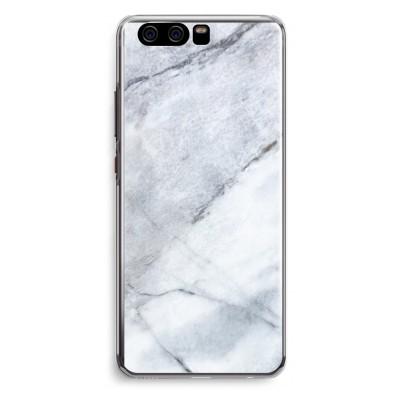 coque-huawei-p10-transparante - Marbre blanc