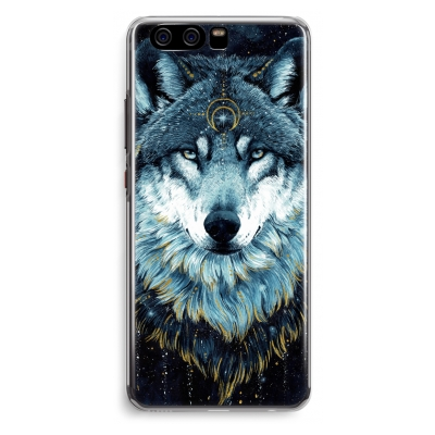 coque-huawei-p10-transparante - Darkness Wolf