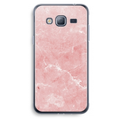 samsung-galaxy-j3-2016-transparent-case - Pink Marble