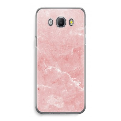 samsung-galaxy-j5-2016-transparent-case - Pink Marble