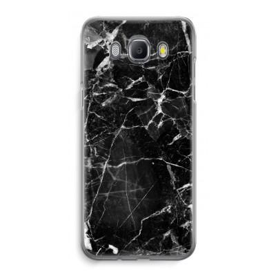 samsung-galaxy-j5-2016-transparent-case - Black Marble 2