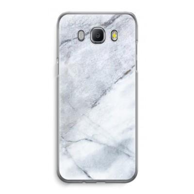 samsung-galaxy-j5-2016-transparent-case - Marble white