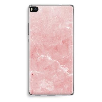 huawei-ascend-p8-funda-transparente - Mármol rosa