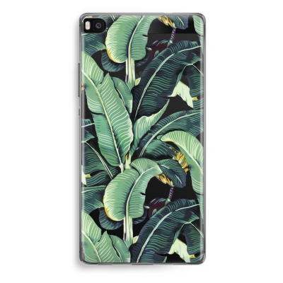 huawei-ascend-p8-transparent-case - Banana leaves