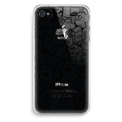 iphone-4-4s-transparent-case - Vexx Black City
