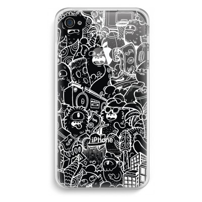 iphone-4-4s-transparent-fodral - Vexx City # 2
