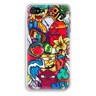 iphone-4-4s-cover-trasparente - No Rules
