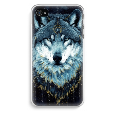 coque-iphone-4-4s-transparante - Darkness Wolf