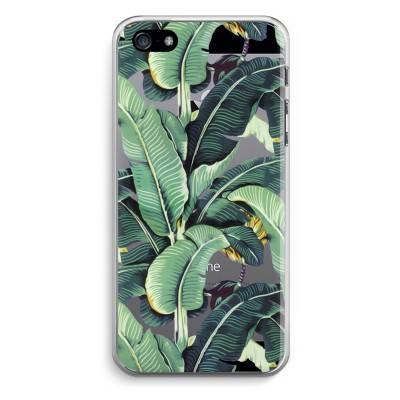 iphone-5-5s-se-transparent-case - Banana leaves
