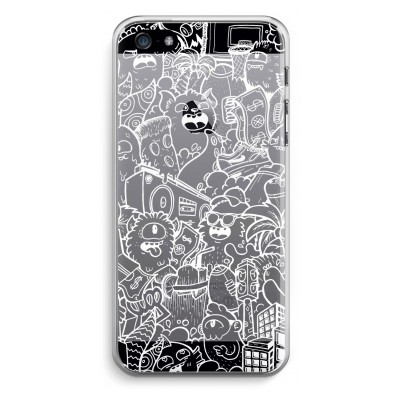 iphone-5-5s-se-transparent-case - Vexx City #2