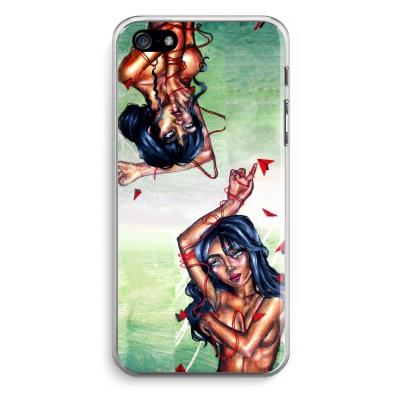 iphone-5-5s-se-transparent-case - Femme