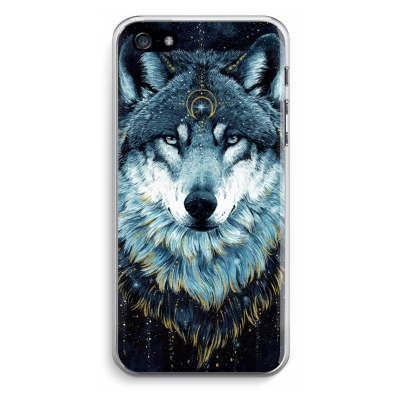 coque-iphone-5-5s-se-transparante - Darkness Wolf