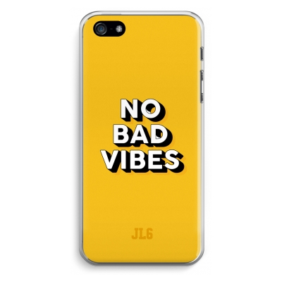 iphone-5-5s-se-cover-trasparente - No Bad Vibes