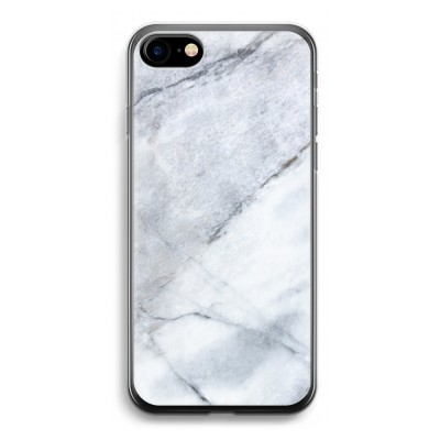 iphone-7-transparante-cover - Witte marmer