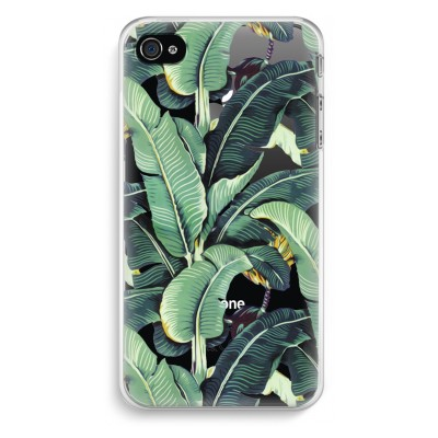iphone-4-4s-transparent-case - Banana leaves