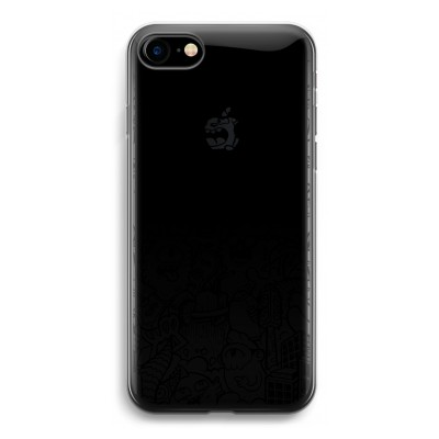 iphone-7-transparent-case - Vexx Black City