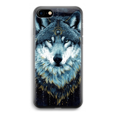 iphone-7-transparante-cover - Darkness Wolf