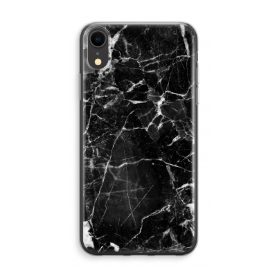 iphone-xr-transparent-fodral - Svart marmor 2 3d189198de01a