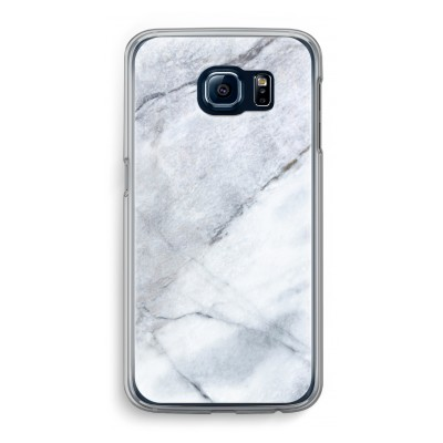 samsung-galaxy-s6-transparante-cover - Witte marmer