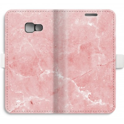 coque-portefeuille-entierement-imprimee-samsung-galaxy-a5-2017 - Marbre Rose
