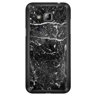 samsung-galaxy-j3-case-2016 - Black marble