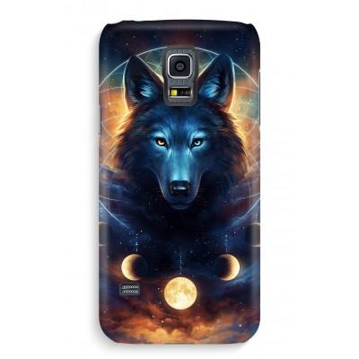 samsung-s5-hoesje-volledig-geprint - Wolf Dreamcatcher