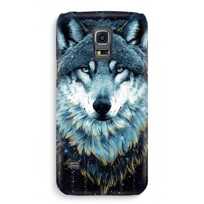 samsung-s5-hoesje-volledig-geprint - Darkness Wolf