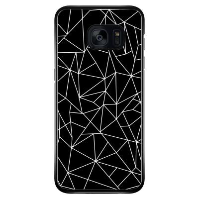 Geometrische lijnen zwart