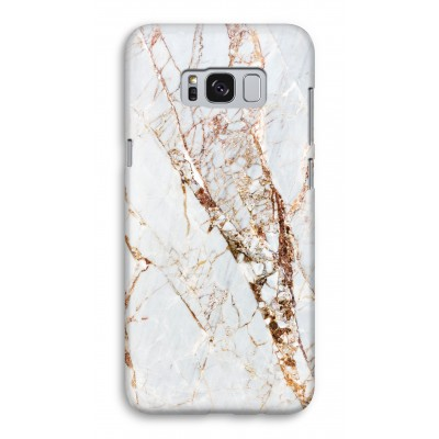 samsung-galaxy-s8-full-print-case - Gold Marble