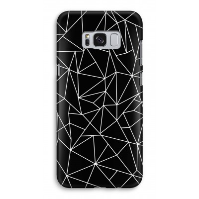 samsung-galaxy-s8-full-print-case - Geometric lines white