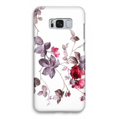 samsung-galaxy-s8-full-print-case - Pretty flowers