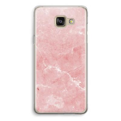 samsung-galaxy-a5-2016-transparante-cover - Roze marmer