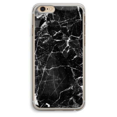 iphone-6-plus-6s-plus-transparent-case - Black Marble 2