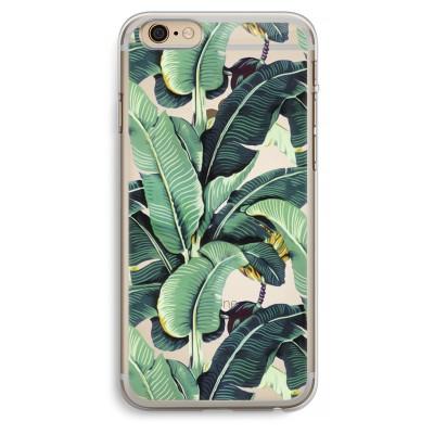 iphone-6-plus-6s-plus-transparent-case - Banana leaves