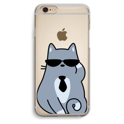 iphone-6-6s-transparent-case - Cool cat