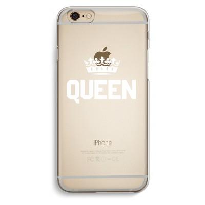 iphone-6-6s-transparent-case - Queen black