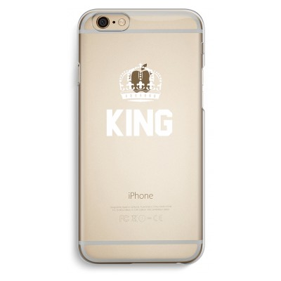 iphone-6-6s-transparent-case - King black