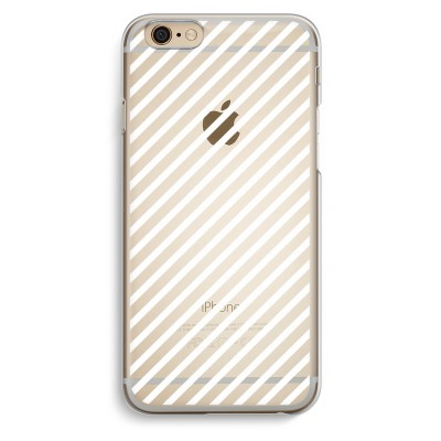 iphone-6-6s-transparent-case - Stripes black and white