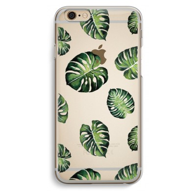 iphone-6-6s-transparent-case - Tropical leaves