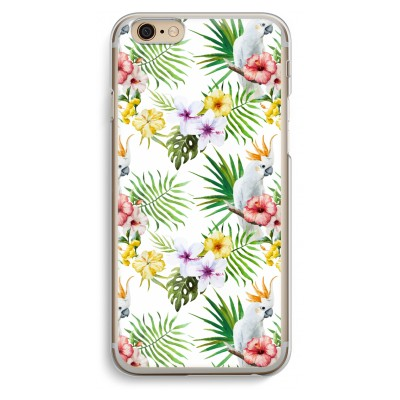 iphone-6-6s-transparante-cover - Gele kuif
