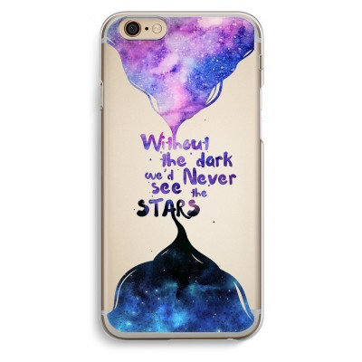 iphone-6-6s-transparante-cover - Stars quote