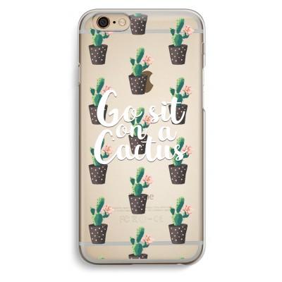 iphone-6-6s-transparante-cover - Cactus quote