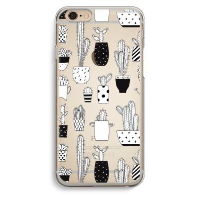iphone-6-6s-transparent-case - Cactus print