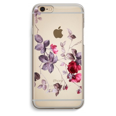 iphone-6-6s-transparent-case - Pretty flowers