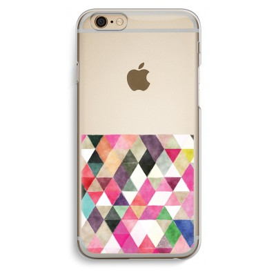 iphone-6-6s-transparent-case - Coloured triangles