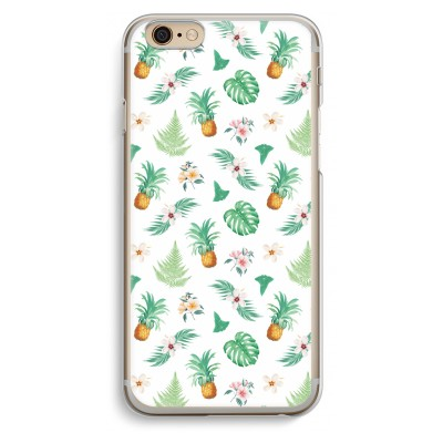 iphone-6-6s-transparante-cover - Ananas bladeren